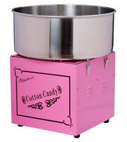 *COTTON CANDY MACHINE CIRCUS* Includes 2lb floss +48 paper cones