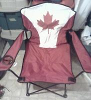 Canada folding camping chair and table