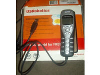 Robotics USB Internet Phone - used but it's still in great condition