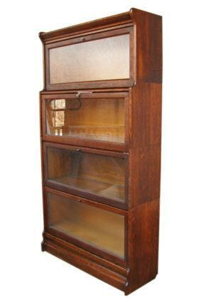 Antique Barrister Bookcase | EBay