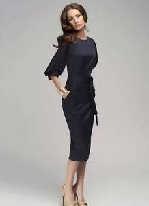 Elegant Navy Blue Dress Galston Hornsby Area Preview