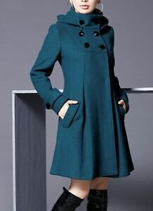 NEW CLOTH COAT (size XS-S); 3 LEATHER COATS (S-M) come try on
