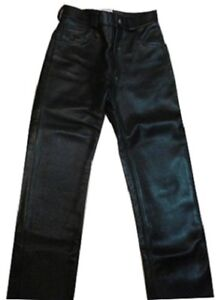 Genuine Leather Pants with no seams front or back