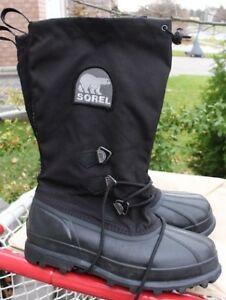 SOREL waterproof winter boots men's size US 11 or UK 10 ½ EU 45.