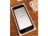 Boxed Apple iPhone 6 16gb Space Grey (EE) With New Accessories