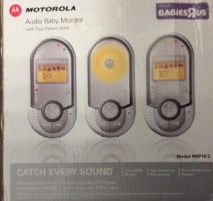Wanted: Motorola baby monitor
