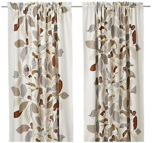 IKEA BLAD Drapes 1 pair