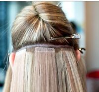 Tape in hair extensions and removal