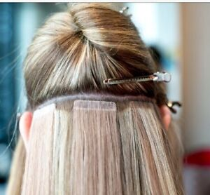 Tape in hair extensions and removal Cambridge Kitchener Area image 1