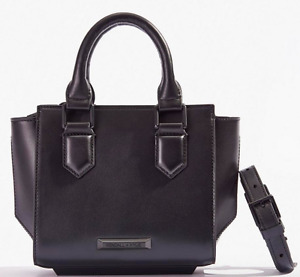 Top-Handle Mini Crossbody Satchel Bag