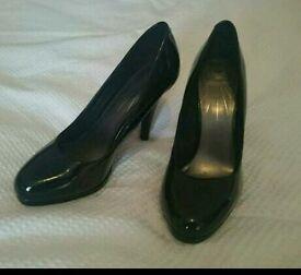 Black Patient Heels