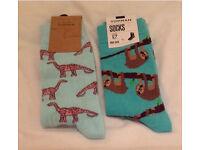 New Topman men's socks x 2 pairs