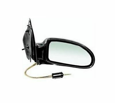 Ford Focus Mk1 1998 2005 Door Wing Mirror Manual Black OS Driver Right