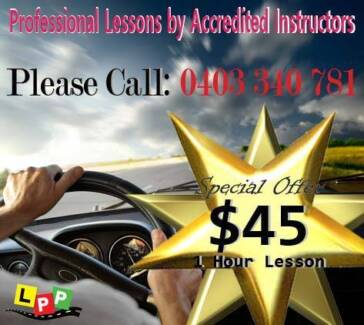 PROFESSIONAL DRIVING INSTRUCTOR at a SUPER PRICE!!