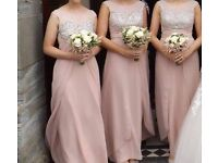 3x size 8 bridesmaid dresses