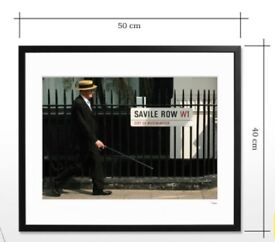 Savile Row Framed Picture