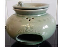 THAI CELADON BURNER MADE FOR CHIVA-SOM