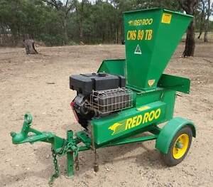 RedRoo CMS 80 TB Chipper / Mulcher / Shredder Eppalock Bendigo Surrounds Preview