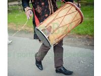 dhol players, brass band baja, dancers in manchester covering all occasions weddings events asian dj