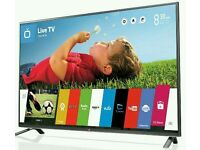 "LG 43"" LED smart wi-fi built HD freeview full HD 1080p"