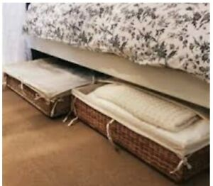 Under Bed Ikea Degernes for Linen or clothes