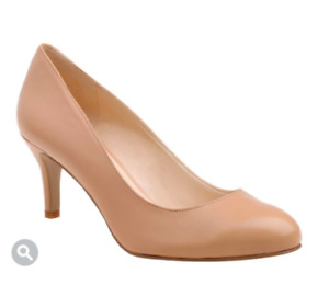 Nine West Classic Mid Heel Round Toe Pumps