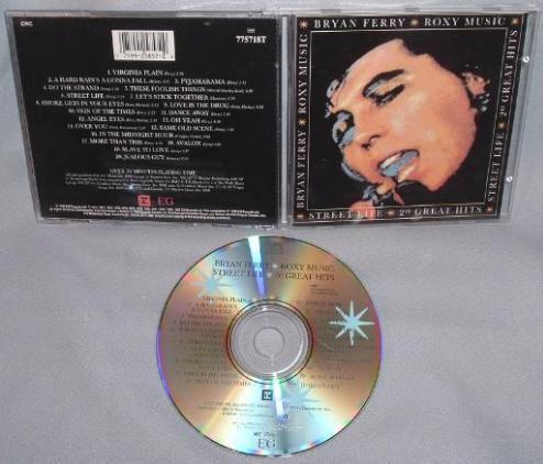 Cd Bryan Ferry Roxy Music Street Life 20 Hits Ch Mint