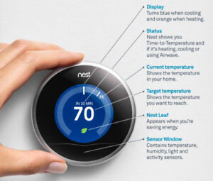 Nest Smart Learning Thermostat [2nd Generation]