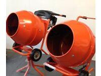New 3Hp Petrol 1/2 Bag Cement Mixers, HD Gear Box Driven, Ballynahinch