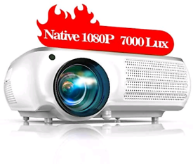 TOPTRO Projector,Upgraded 7000 Lumens