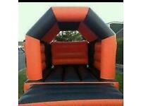 Bouncy castle hire fixed rain cover