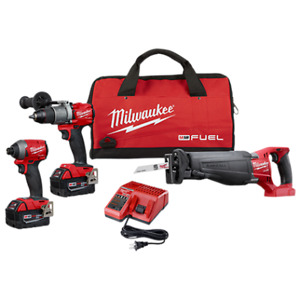BRAND NEW MILWAUKEE FUEL TOOLS KITS FOR SALE