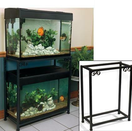30 gallon fish tank ebay for Fish tank stand 20 gallon
