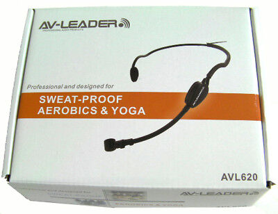 Audio Technica Cardioid Headset - Water Resistant Fitness Yoga Headset Mic for Audio Technica Wireless AT Cardioid