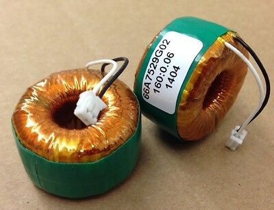 New Audio Frequency Filter Equalizer 135 Ohm Inductor Toroid Choke Coil
