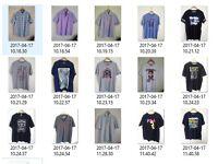 A bundle of 15 shirts/t shirts - Mixed sizes XXL& XL