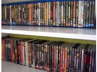 Movies for sale 120 DvD's