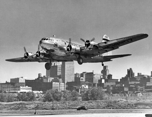 "TWA Boeing 307 Stratoliner ((8.5""x11"")) Print"