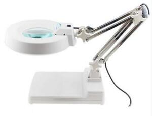 110V Table Magnifier Lamp 20x 140059