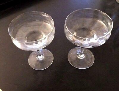 crystal champagne glasses Baccarat  2