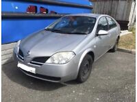 Nissan Primera 5 Door Hatchback Car