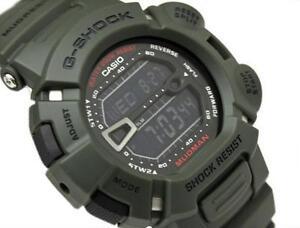 CASIO-G-SHOCK-MUDMAN-G9000-3-G-9000-3V-MUD-DIRT-RESISTANT-ARMY-MILITARY-GREEN