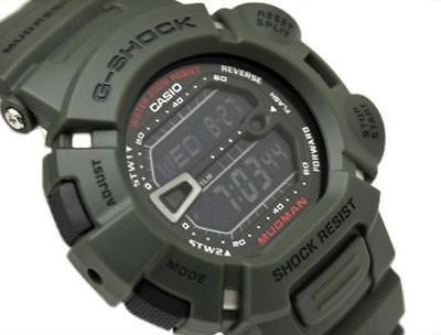 CASIO G-SHOCK MUDMAN, G9000-3 G-9000-3V, MUD DIRT RESISTANT, ARMY MILITARY GREEN