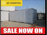 Used Shipping Containers For Sale (Delivery Across The UK) & Shipping Container Rental Service