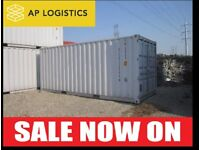 USED SHIPPING CONTAINERS FOR SALE - MINI 20FT 40FT - DELIVERY & STORAGE SERVICE AVAILABLE ACROSS UK