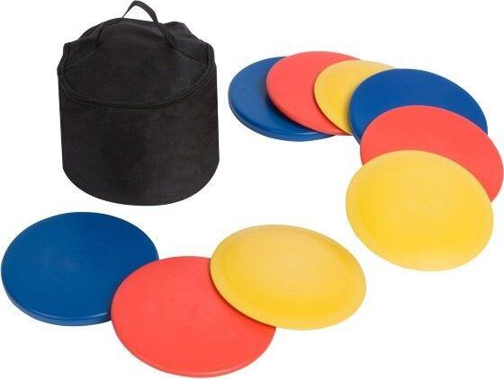 Disc Golf Set (9 Discs) w/ Bag (3) Drivers (3) Mid-range & (3) Putters Precision