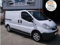 2008 58 VAUXHALL VIVARO 2.0 CDTI 2700 WITH TWIN SIDE DOORS CLEAN VAN WITH NO VAT