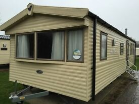 2 Bedroom 6 Berth Bourne Exclusive 2013 Willerby Eco Salsa sited at Thorpe Park Cleethorpes