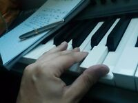 SONGWRITING TUITION and Basic KEYBOARD LESSONS