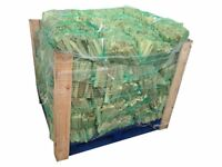 Pallet of Kindling With 96 Bags 4kg Netted Bags